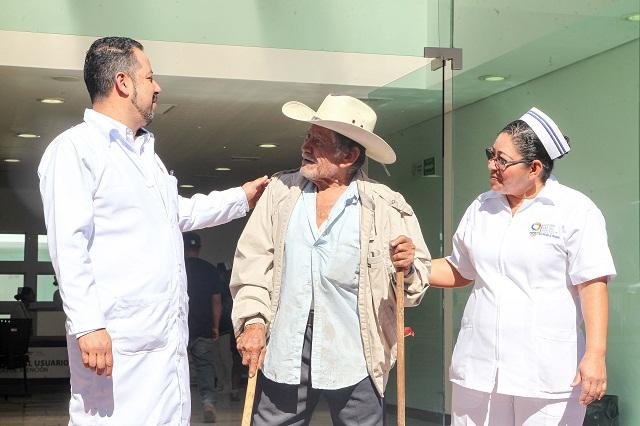 Inicia construcción de Centro de Salud en San Sebastián de Aparicio