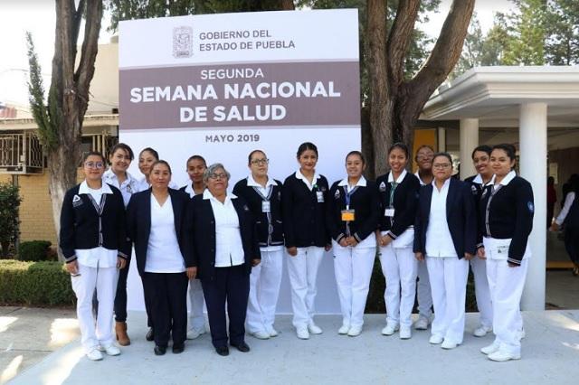 Inicia la Segunda Semana Nacional de Salud, en Puebla