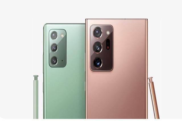 Samsung presenta sus nuevos celulares: Galaxy Note 20 y Galaxy Note 20 Ultra