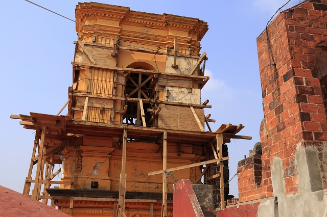 Arreglan ya 96 de 400 iglesias dañadas el 19S en Puebla