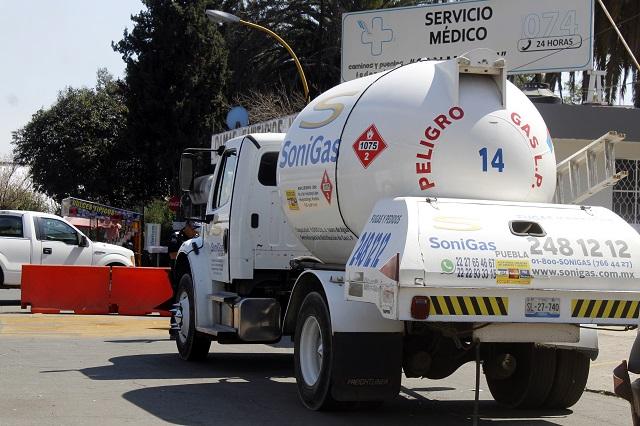 En Puebla, uno de los precios más bajos por litro de gas