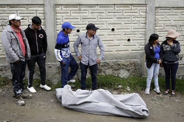 Con balazo en el rostro matan a narcomenudista en Canoa