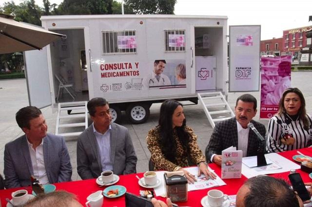 Descartan crisis de medicamentos en San Pedro Cholula
