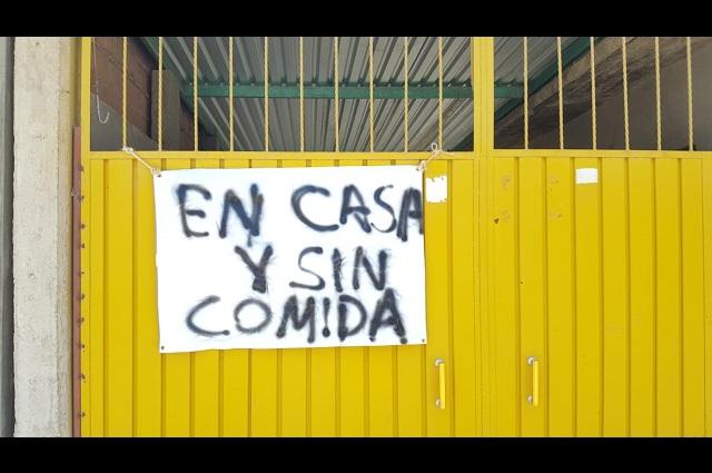 Familias de San Vicente Boquerón protestan por crisis económica