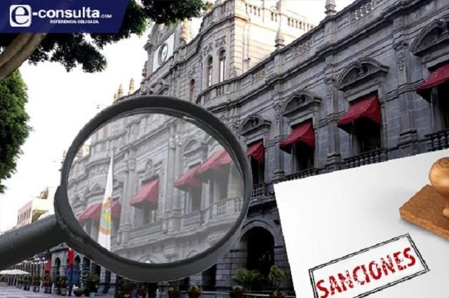 Aumentan sanciones contra servidores públicos del Ayuntamiento capitalino