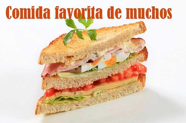 Mucho gusto de los mexicanos por el sándwich