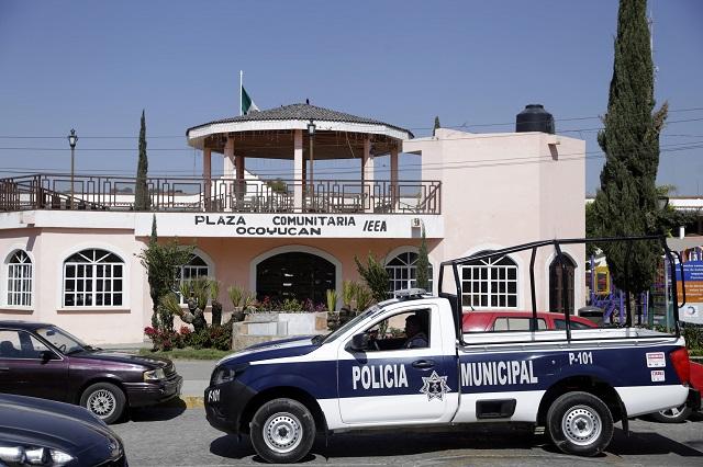 En Ocoyucan piden que Policía Estatal se encargue de seguridad