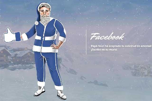 6 formas de cómo se vería Santa Claus en diferentes redes sociales