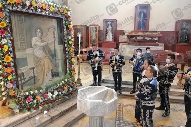 Músicos de Zacapoaxtla celebran a Santa Cecilia pese a crisis por Covid