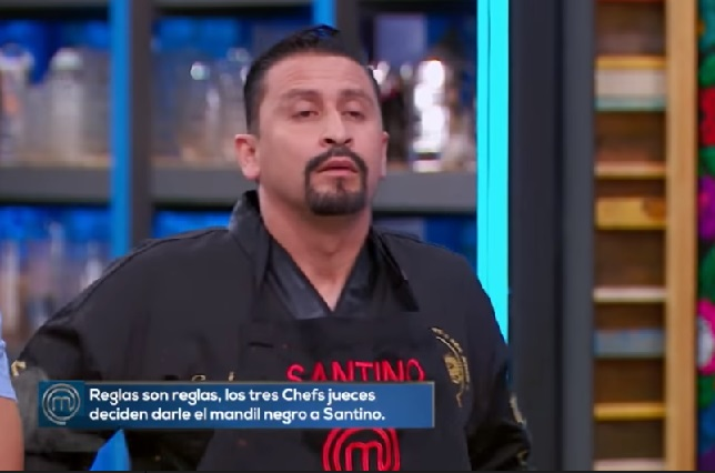 Los memes despiden a Santino de MasterChef México