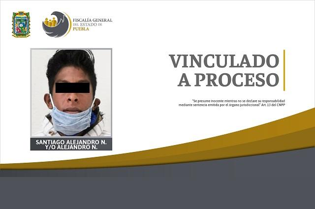 Por violar a una menor de edad fue vinculado a proceso, en Puebla