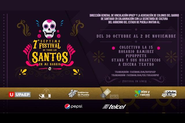 El séptimo Festival Todos Santos en mi Barrio, será virtual