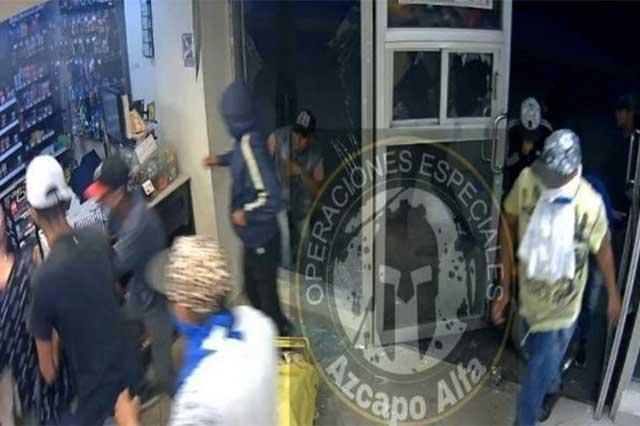 Detienen a 27 personas por saqueos en Tultitlán y Acolman