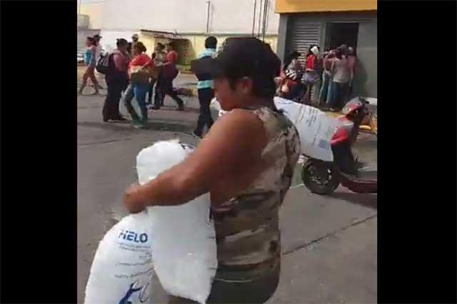 Tercera jornada de saqueos en Veracruz pese a presencia de Gendarmería