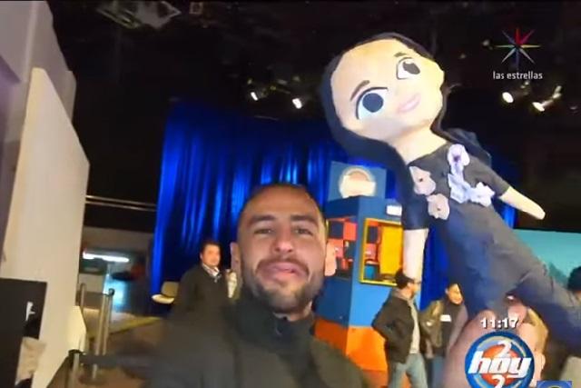 Video: Hijos de José José así reaccionaron al ver piñata de Sarita Sosa