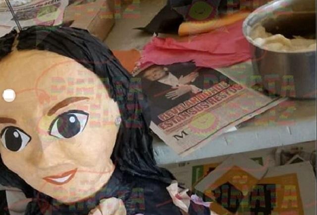 Ya hicieron piñata de Sarita, hija de José José, para Halloween