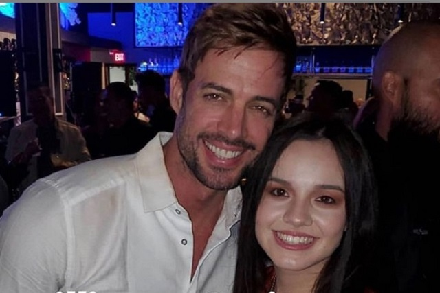 Sarita Sosa va a inauguración de restaurante de William Levy
