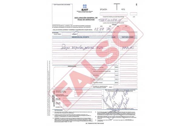 Alertan sobre falsos cobradores del predial en Tepeojuma