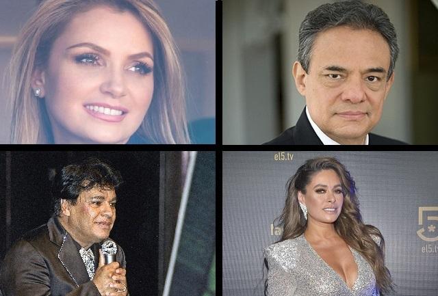 SAT perdonó a José José, Juan Gabriel, La Gaviota y Galilea Montijo