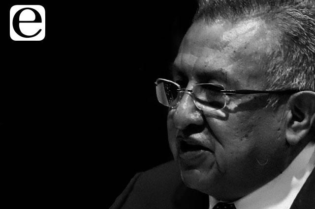 Renuncia de Saúl Huerta a candidatura no se ha formalizado