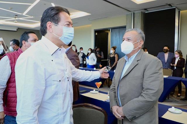 Mario Delgado es la mejor opción para dirigir Morena: Saúl Huerta
