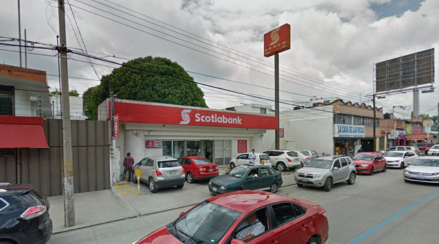 Empistolados asaltan Scotiabank de Villas San Alejandro
