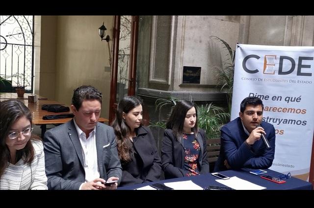 Fiscalización a la BUAP tiene tintes políticos: estudiantes