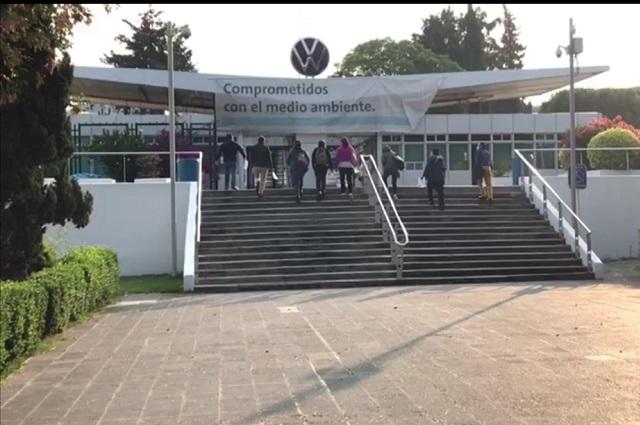Comienzan cursos en VW para regreso a operaciones