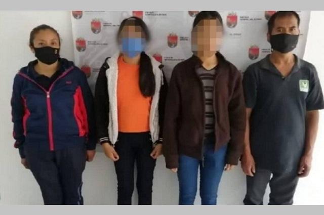 Hallan en Chiapas a menores desaparecidas en Puebla