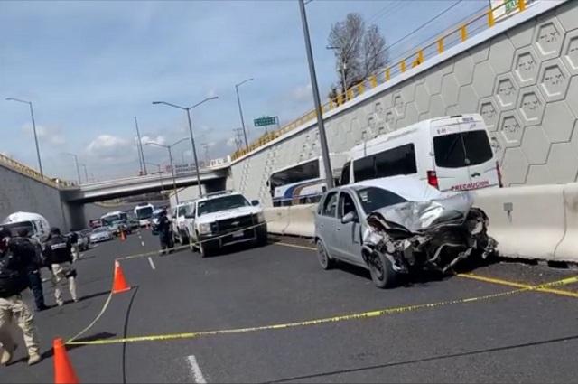 Muere policía municipal de Puebla al chocar en Tlaxcala