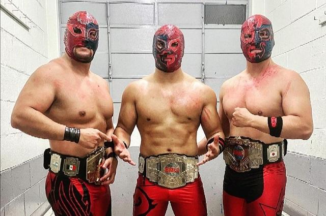 Sansón, Cuatrero y Forastero quedan fuera del CMLL