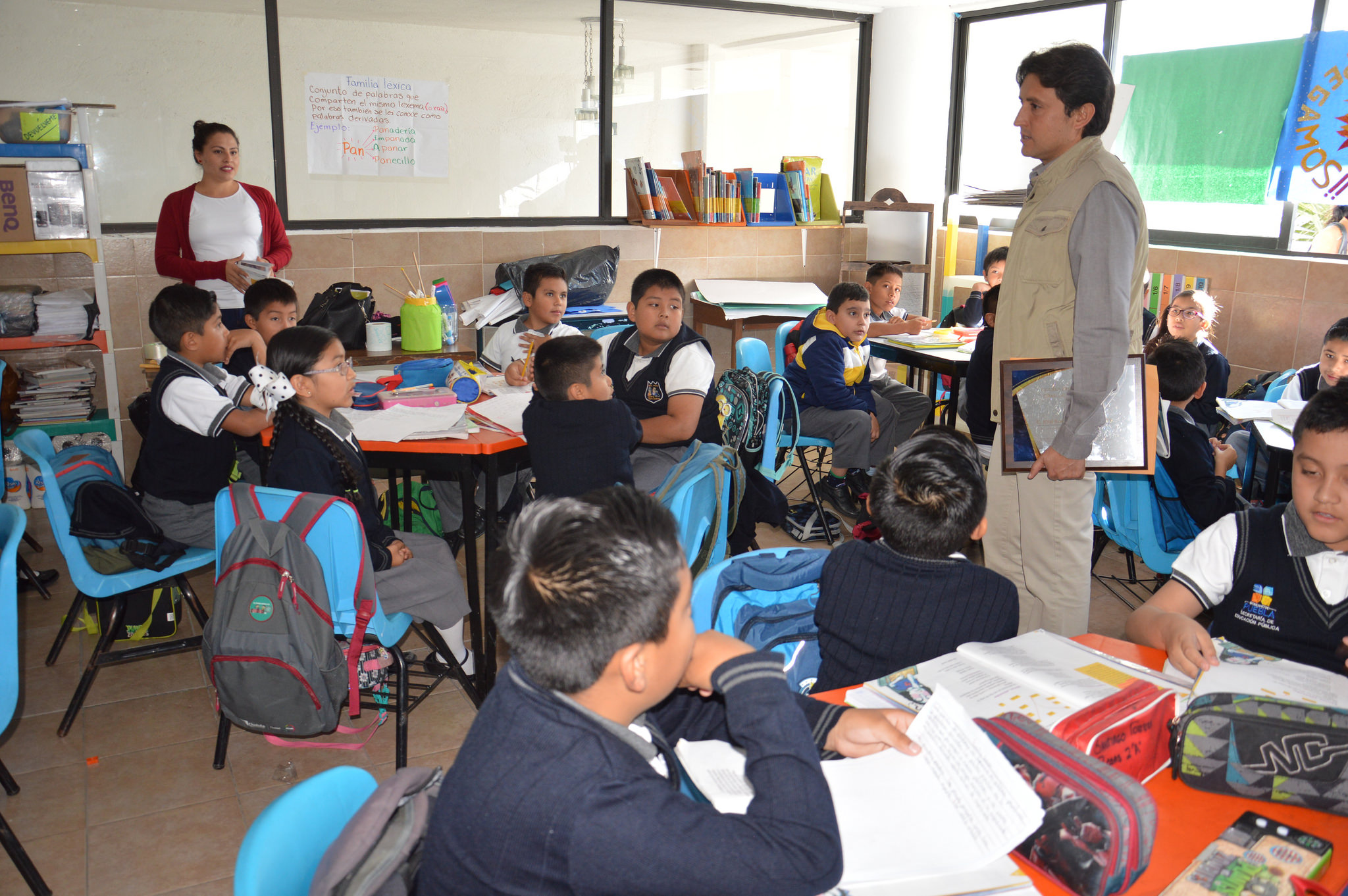 Reubican primaria Lázaro Cárdenas de Cholula y reinicia clases