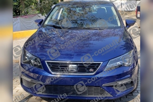 Tras operativo, recupera SSPTM de Xicotepec vehículo robado