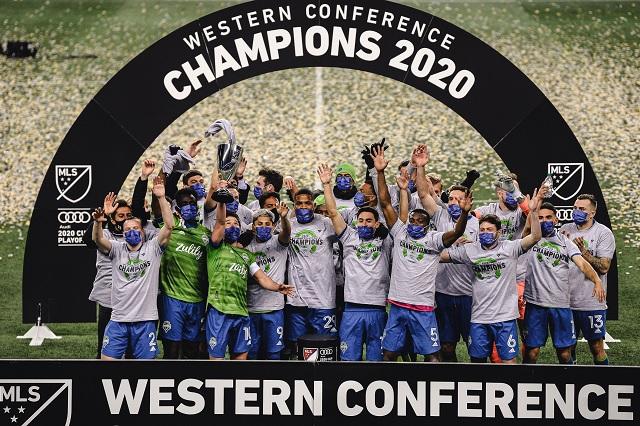 Seattle Sounders, campeones del oeste; jugará final MLS vs Columbus Crew