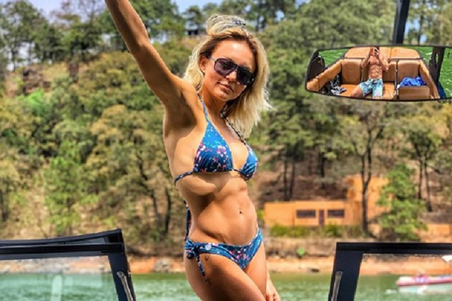 Video: Angelique Boyer baila en bikini y así se ve de espaldas