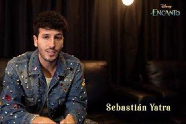 Sebastián Yatra interpreta tema 'Dos orugitas', para película Encanto
