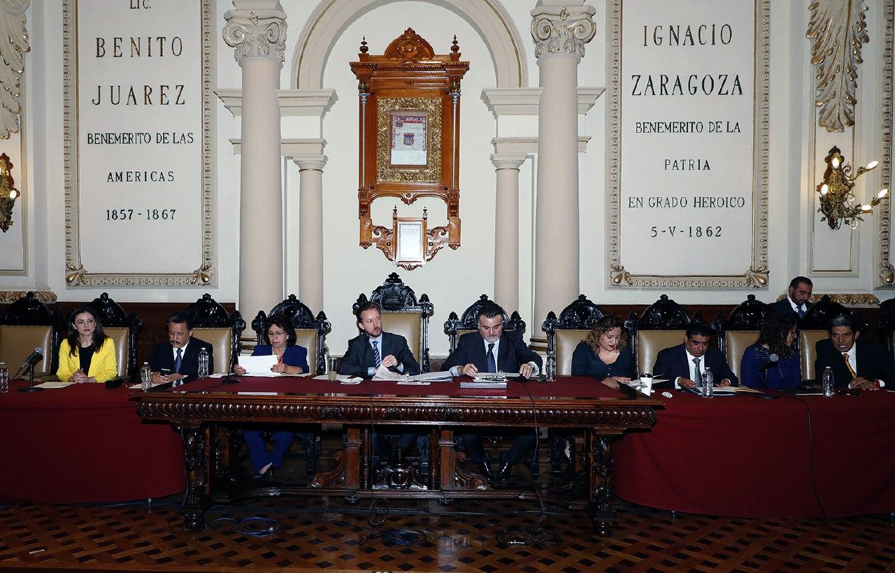 Llegan regidores suplentes al Ayuntamiento de Puebla