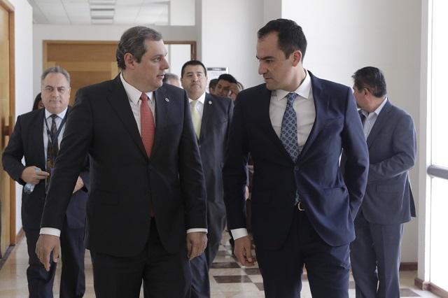 Presentan plataformas digitales para elevar competitividad de Puebla