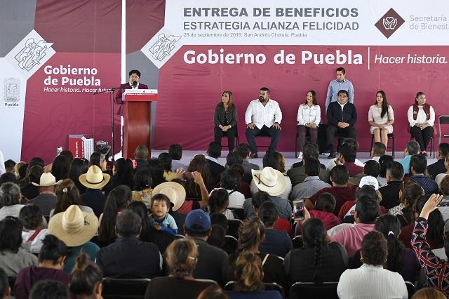 Regresarán a cholultecas predios de la discordia con Moreno Valle