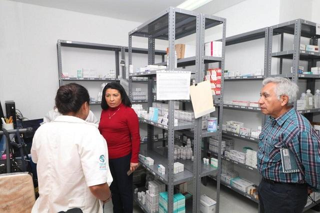 Verifica Salud funcionamiento de los hospitales en Puebla