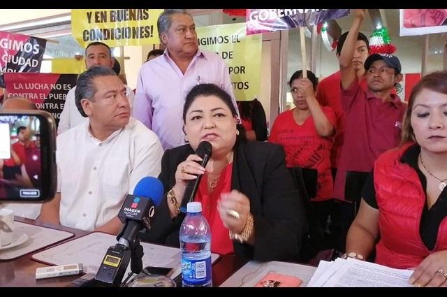 Destituyen a secretaría general del Sindicato de Trabajadores de Tehuacán
