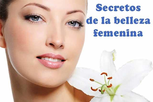 Cinco secretos de la belleza femenina
