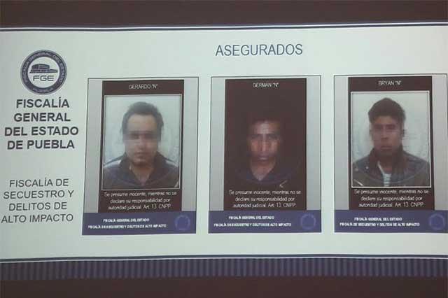 Caen tres secuestradores de alumna; uno es menor de edad