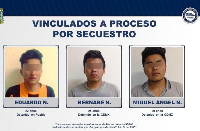 Vinculan a proceso a 3 presuntos secuestradores de colombiano