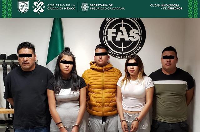 Cae banda de secuestradores en bares la zona de Polanco