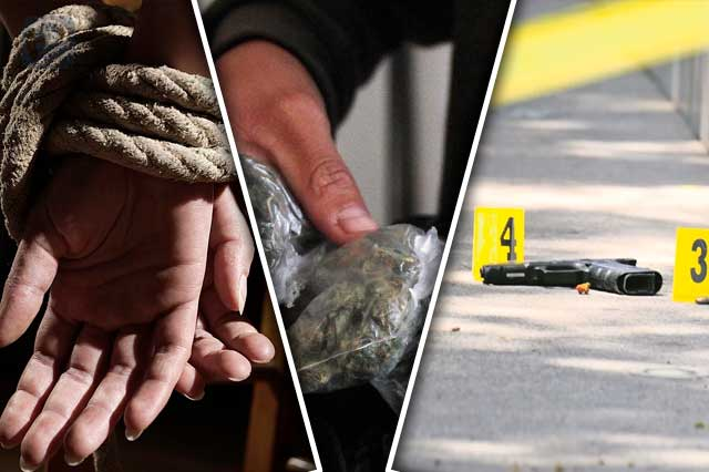 Un homicidio, un secuestro y narcomenudeo en Atlixco