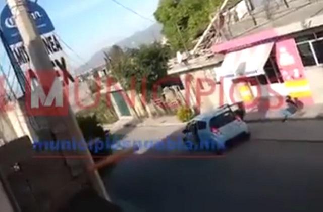 Levantan a mujer a plena luz del día en calles de Tehuacán