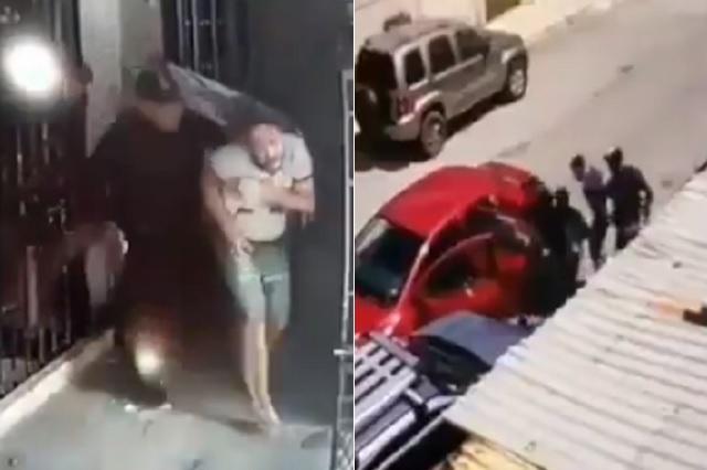Logran captar perturbador secuestro en Cancún