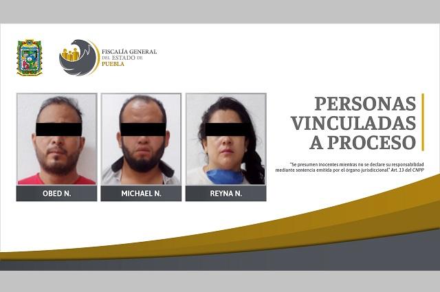 Van a prisión tres presuntos secuestradores en Puebla