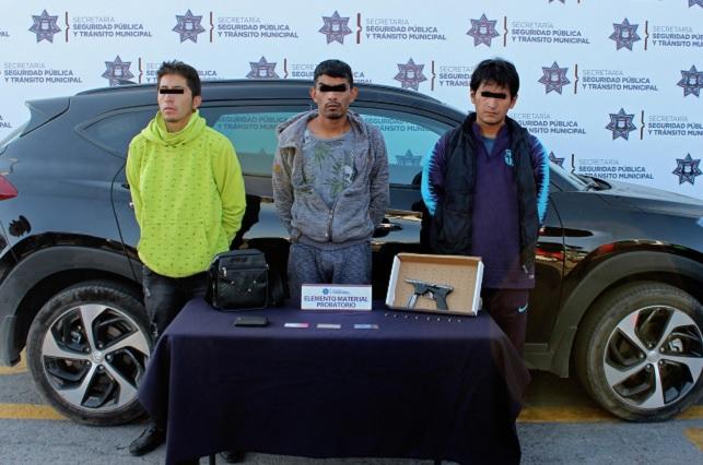 Capturan en Puebla a presuntos secuestradores de tlaxcalteca